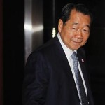 Chearavanont, chairman of Charoen Pokphand Food, arrives at Thailand-China Business Council Seminar in Bangkok