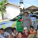 Google Street View car in Thailand
